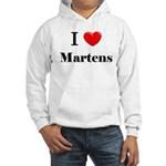 I Love Martens Hooded Sweatshirt