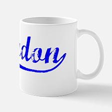 Vintage Braydon (Blue) Mug