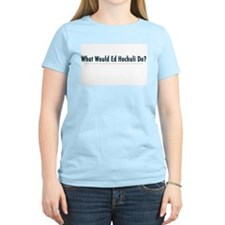 What Would Ed Hochuli Do? Women's Pink T-Shirt