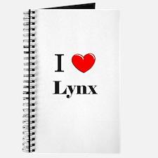 I Love Lynx Journal