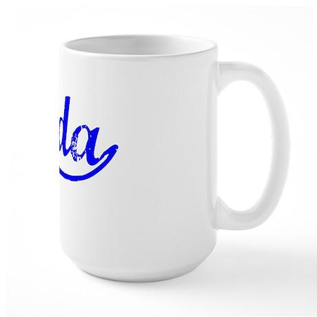 Vintage Brenda (Blue) Large Mug