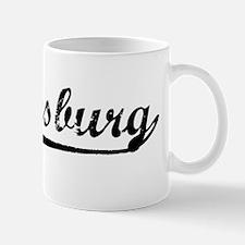 Vintage Hattiesburg (Black) Mug