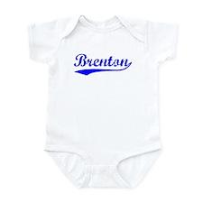 Vintage Brenton (Blue) Infant Bodysuit