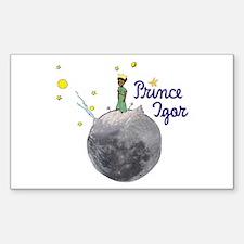 Prince Igor Rectangle Decal