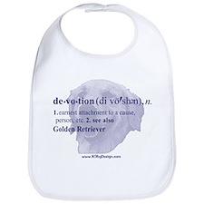 Devotion--Golden Retriever Bib