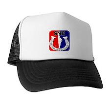 Saratoga Horseshoe Club Trucker Hat