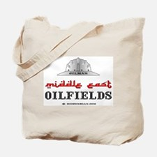 Middle East Oilfields Tote Bag