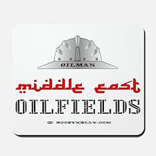 Middle East Oilfields Mousepad