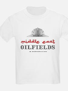 Middle East Oilfields T-Shirt