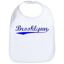 Vintage Brooklynn (Blue) Bib