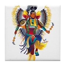 Native Dancer Tile Coaster