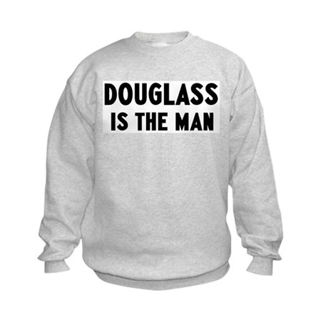 Douglass is the man Kids Sweatshirt