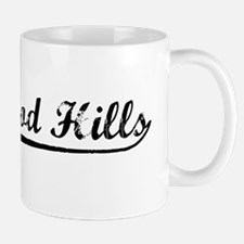 Vintage Hollywood .. (Black) Mug