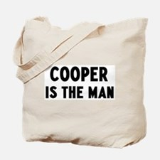 Cooper is the man Tote Bag