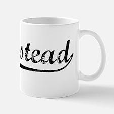 Vintage Homestead (Black) Mug