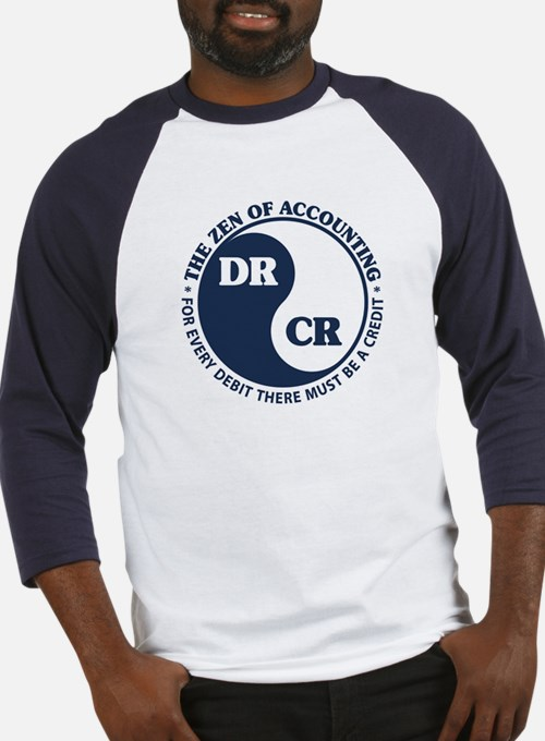 Zen of Accounting Baseball Jersey