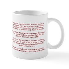 Number Explosion Mug