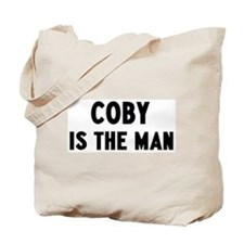 Coby is the man Tote Bag