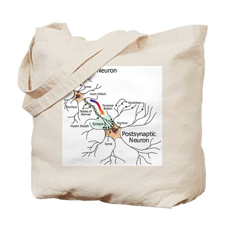 The Neural Synapse Tote Bag