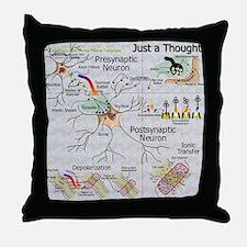 Neural Synapse  Throw Pillow