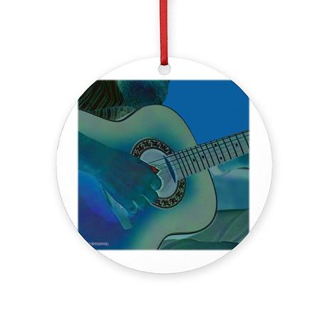 Acoustic Riffs Ornament (Round)