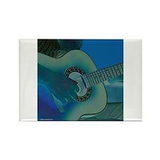 Acoustic Riffs Rectangle Magnet