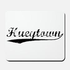 Vintage Hueytown (Black) Mousepad