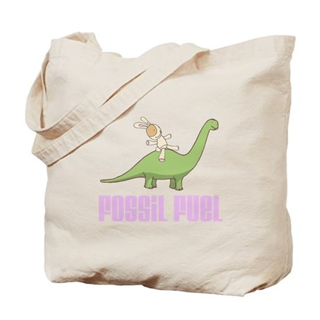 Fossil Fuel Tote Bag