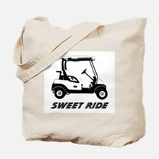 Unique Golf cart humor Tote Bag