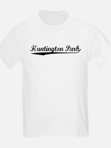 Vintage Huntington.. (Black) T-Shirt