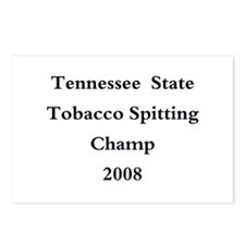 08 TN Tob Spit Champ Postcards (Package of 8)