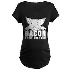 Bacon - I love that Dog! T-Shirt