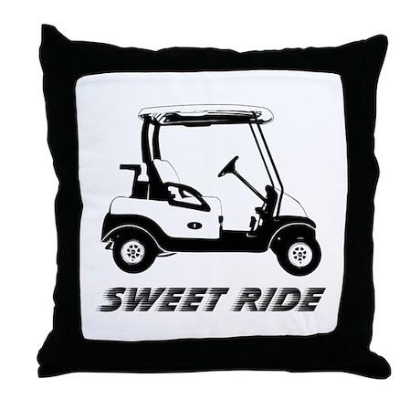 """Sweet Ride"" Throw Pillow"
