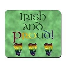 Irish and Proud! Mousepad