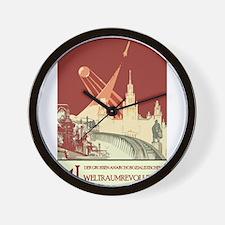 German Prop Wall Clock