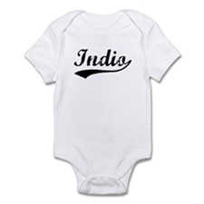 Vintage Indio (Black) Infant Bodysuit