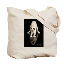 Tote Bag - Front and Back Snowshoe Cat Photos