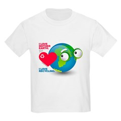 I Love Mother Earth. I love R T-Shirt