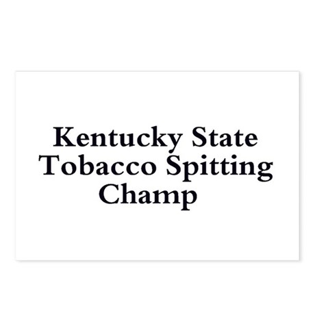 Ky State Tobacco Spitting Cha Postcards (Package o