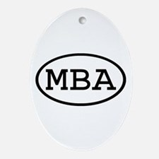 MBA Oval Oval Ornament