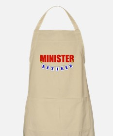 Retired Minister BBQ Apron
