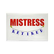 Retired Mistress Rectangle Magnet