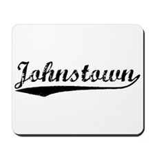 Vintage Johnstown (Black) Mousepad