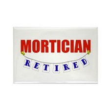 Retired Mortician Rectangle Magnet
