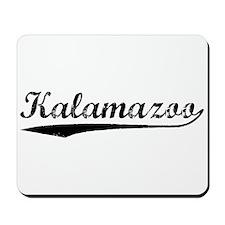 Vintage Kalamazoo (Black) Mousepad