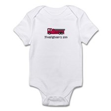 Firefighter's son Infant Bodysuit