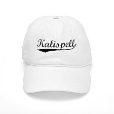 Vintage Kalispell (Black) Baseball Cap