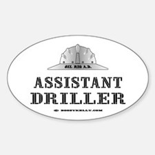 Assistant Driller Oval Decal