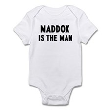Maddox is the man Infant Bodysuit