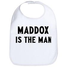 Maddox is the man Bib